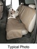 Canine Covers Econo-Plus Seat Protector - Bench Seat w/ Headrests - Small High Back - Misty Gray Cloth DE2011CT