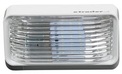 Rv Rectangular Porch And Utility Light Clear Optronics