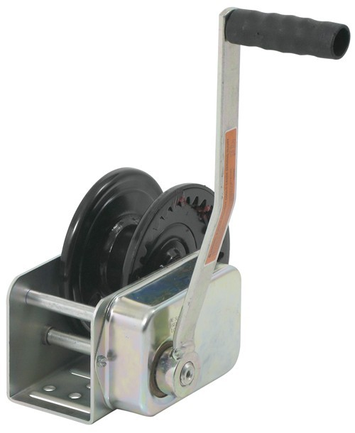 Dutton-Lainson Hand Winch w/ Automatic Brake - TUFFPLATE Finish - 1,500 lbs Single Speed Winch DL10770