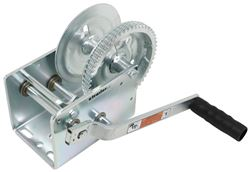 Dutton-Lainson Hand Winch - TUFFPLATE Finish - 2 Speed - Direct Drive - 2,500 lbs
