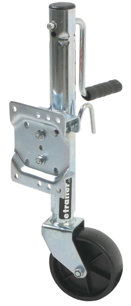 Dutton-Lainson Trailer Jack Side Wind Swivel Jack with 6 Inch Wheel 800 lbs