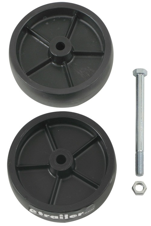 Dual Wheel Parts : Replacement dual poly wheel for dutton lainson model