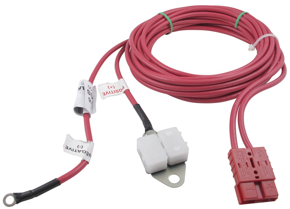 dutton lainson wiring harness for dc strongarm electric winches w rh etrailer com badlands winch wiring harness winch wiring harness for atv