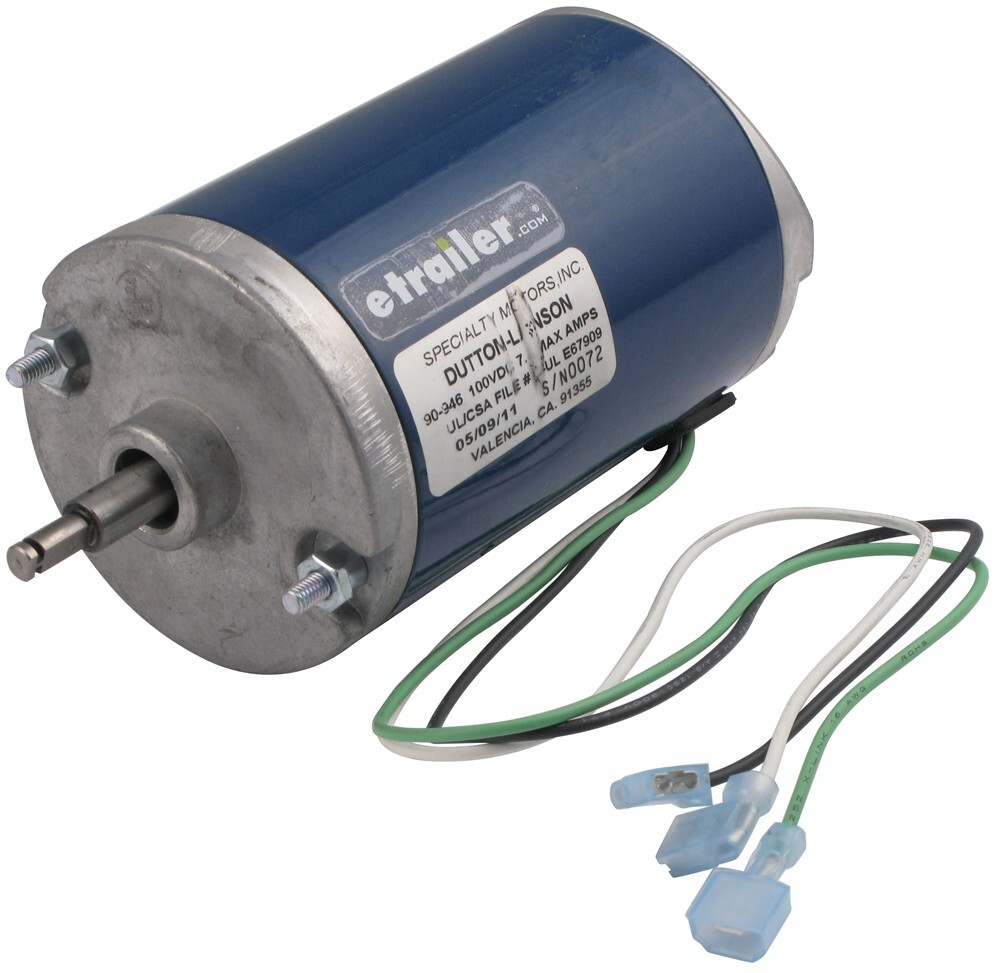 Replacement Motor For Dutton Lainson 120 Volt Ac Powered Winches Also Winch Solenoid Wiring On 4 Wire Trailer Tail Light Accessories And Parts Dl304921