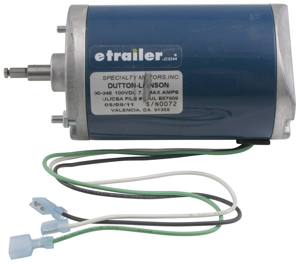 replacement motor for dutton-lainson 120-volt ac powered winches electric  winch dl304921