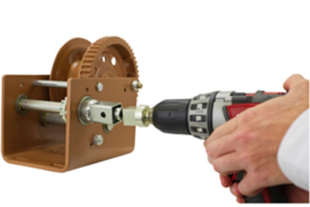 Dutton-Lainson Drill Drive Socket Adapter for DLB Series Winches