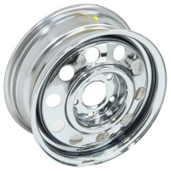 Replacement Wheel for Demco Kar Kaddy SS Tow Dolly - Chrome
