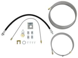 Demco Hydraulic Brake Line Kit for Single Axle Trailers - Drum Brakes