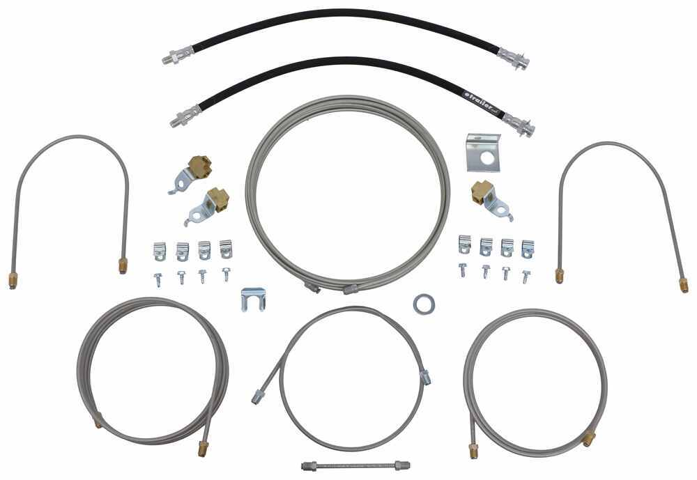 Demco Hydraulic Brake Line Kit for Tandem Axle Trailers - Drum Brakes Hydraulic Drum Brakes DM5428