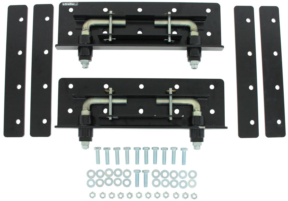 Replacement Side Plates for Demco Hijacker Autoslide 5th Wheel Trailer Hitch - Ford Super Duty Side Plates DM6033