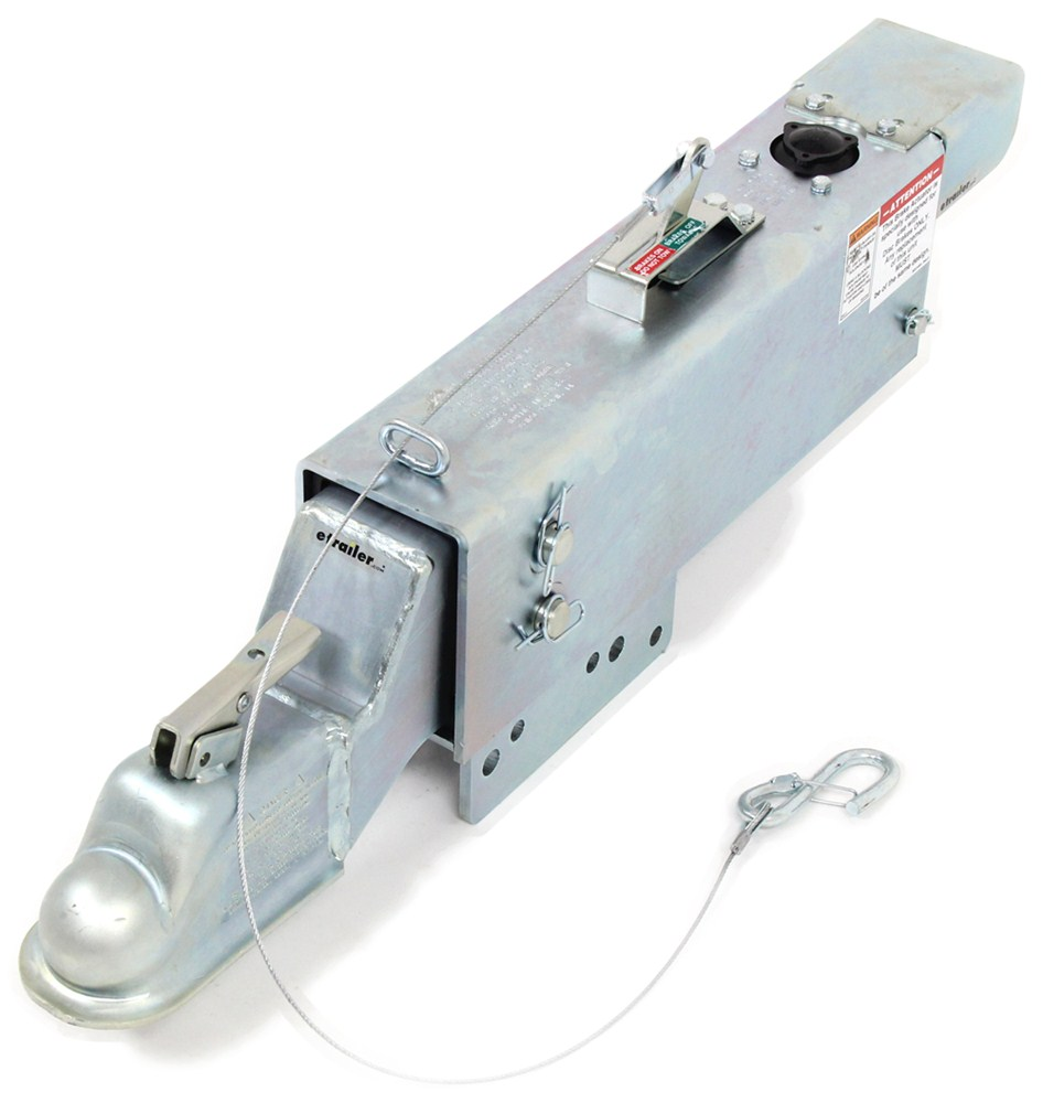 """Demco Hydraulic Brake Actuator w/ Drop and Electric Lockout - Disc - Zinc - 2-5/16"""" Ball - 20K Electric Lockout DM8204311"""