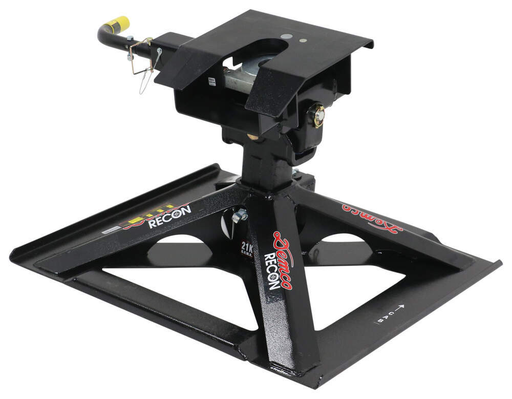Demco Recon Gooseneck-to-5th Wheel Trailer Hitch Adapter - Single Jaw - 21,000 lbs Gooseneck Hitch to Fifth Wheel Trailer DM8550045