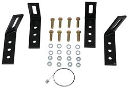 Demco Hijacker Premier Series Semi-Custom Mounting Brackets for 5th Wheel Above-Bed Base Rails