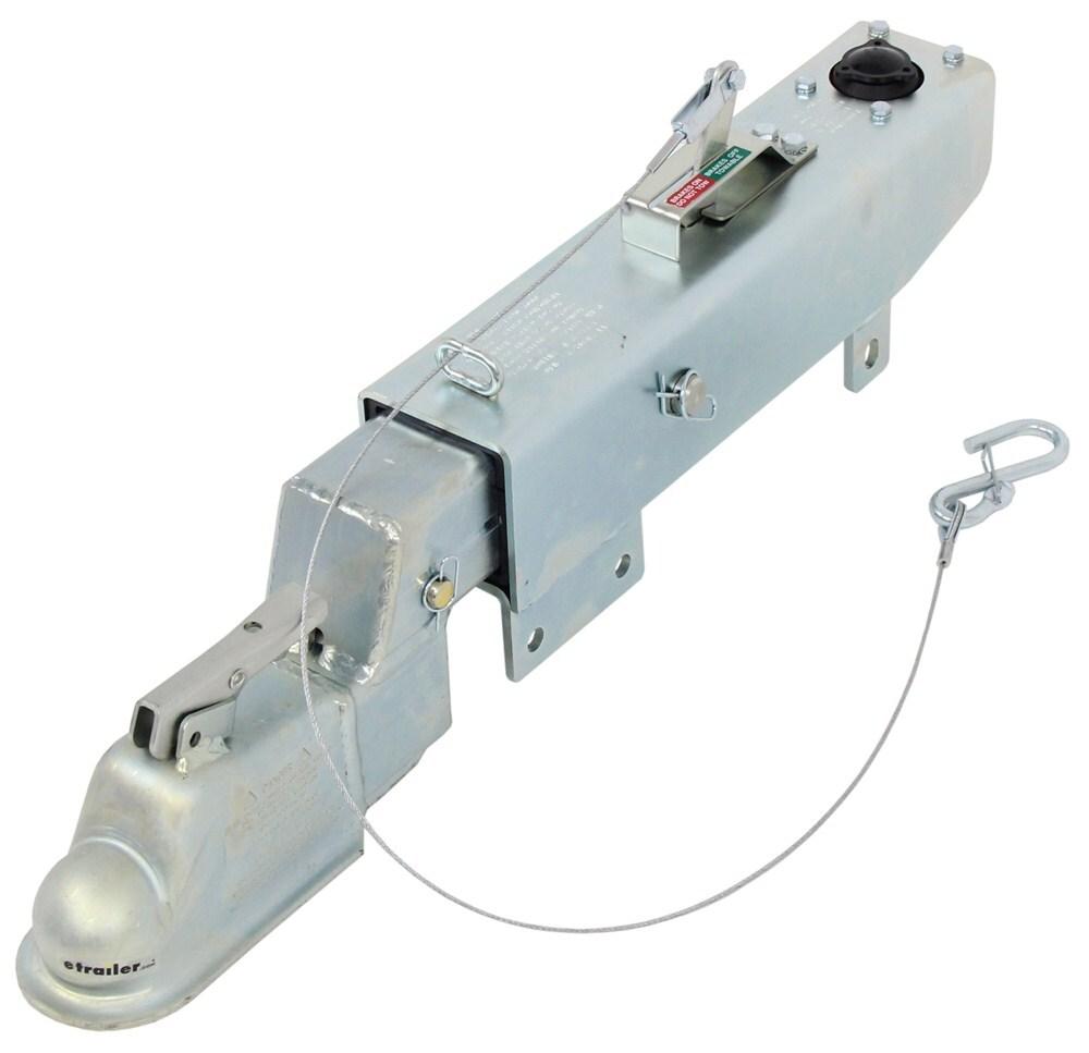 "Demco Hydraulic Brake Actuator w/ Drop - Drum - Zinc - 2-5/16"" Ball - 8,000 lbs Bolt-On DM8759411"