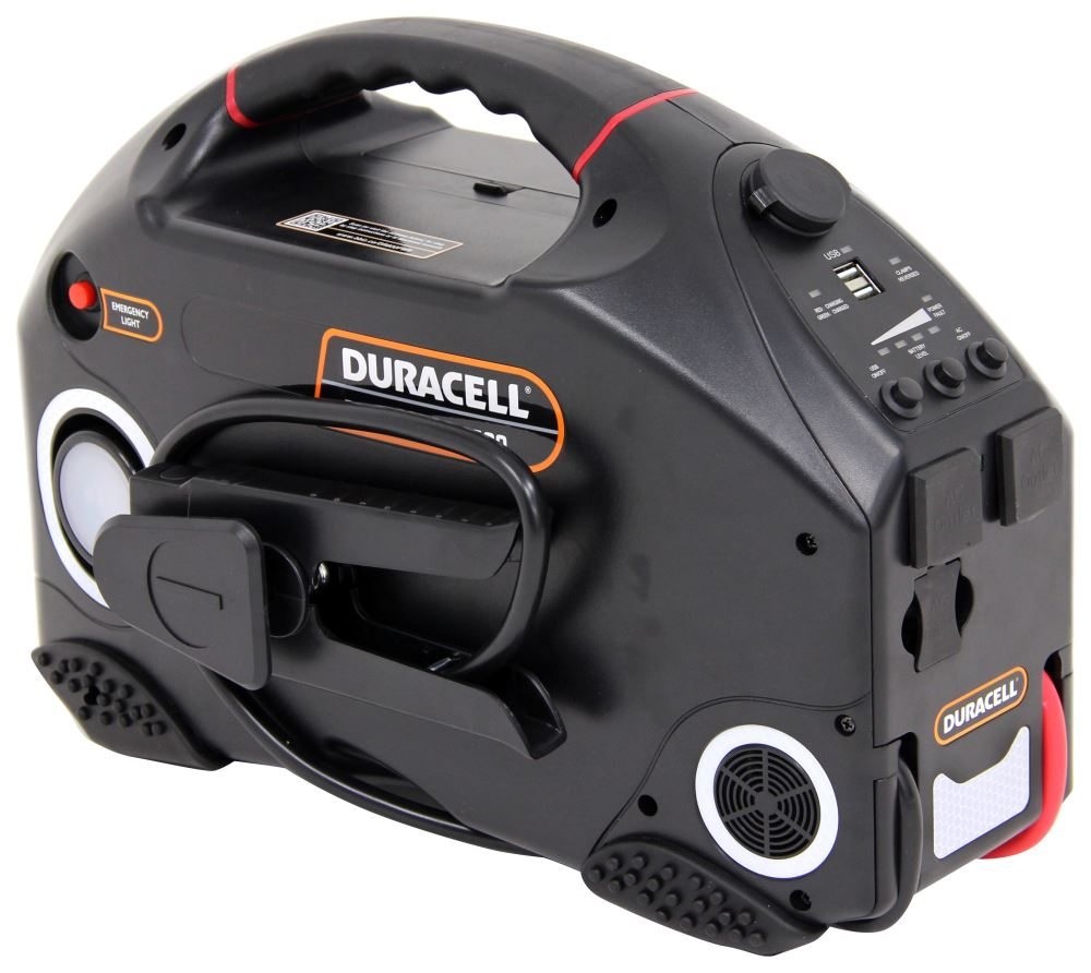 Duracell Powerpack Pro 1300 Portable Power Source W Jump