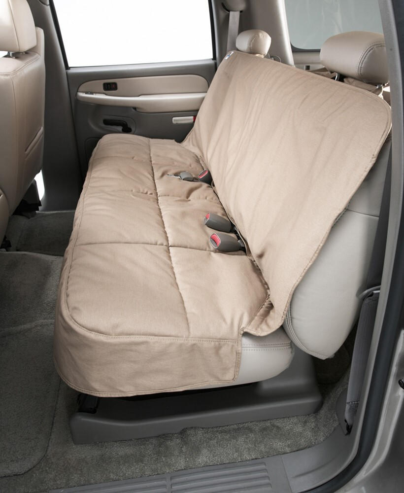 2016 toyota rav4 canine covers semi custom seat protector for rear bench seats with headrests. Black Bedroom Furniture Sets. Home Design Ideas
