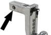 fastway trailer hitch ball mount adjustable drop - 8 inch rise 9 self-locking aluminum 3 stainless balls 10k
