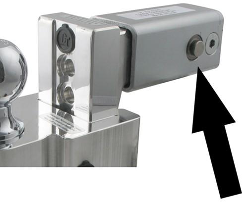 "Class 4 Hitch >> Self-Locking, Adjustable 2-Ball Mount w Chrome Balls - 2.5"" Hitch - 4"" Drop, 5"" Rise Fastway ..."