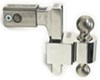 "Self-Locking, Adjustable 2-Ball Mount, Stainless Balls - 2.5"" Hitch - 6"" Drop/7"" Rise Aluminum Shank DTALBM6625-2S"