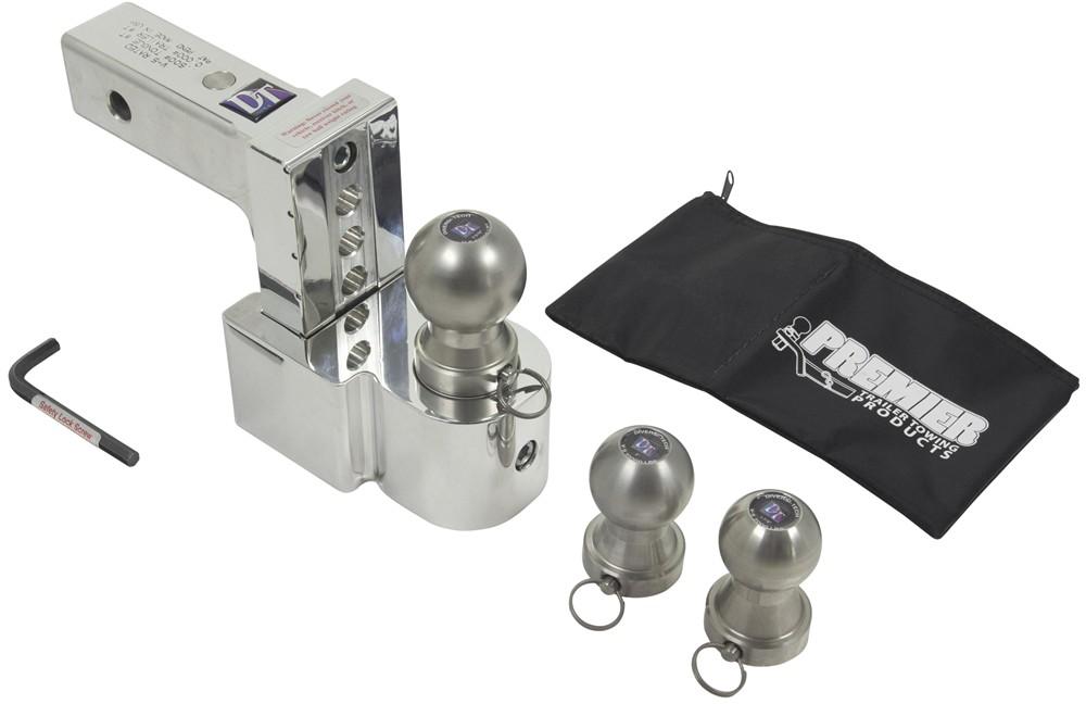 DTSTBM6400-3S - Stainless Steel Ball Fastway Ball Mounts