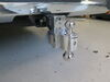 0  trailer hitch ball mount fastway adjustable two balls solid-tow 2-ball w chrome - 2 inch 4 drop 5 rise
