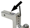 "Solid-Tow Adjustable 2-Ball Mount w Chrome Balls - 2"" Hitch - 4"" Drop, 5"" Rise Drop - 4 Inch,Rise - 5 Inch DTSTBM6400"