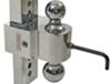 DTSTBM6600 - Fits 2 Inch Hitch Fastway Ball Mounts