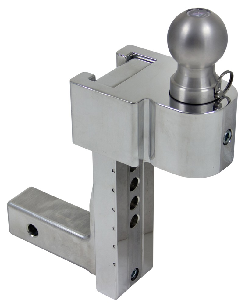 Solid Tow Adjustable 3 Ball Mount W Stainless Balls 2