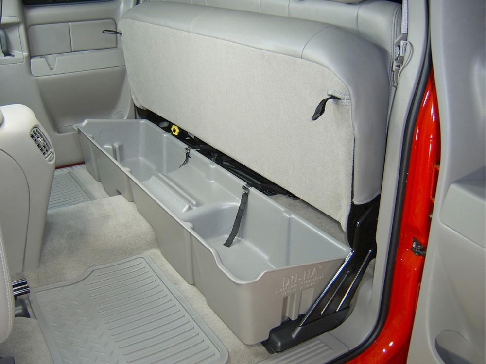Incredible Du Ha Truck Storage Box And Gun Case Under Rear Seat Pdpeps Interior Chair Design Pdpepsorg