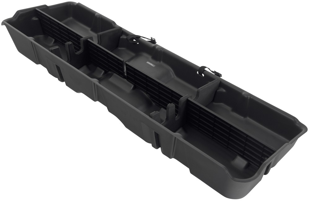 Under Seat Truck Storage >> Du-Ha Truck Storage Box and Gun Case - Under Rear Seat - Dark Gray Du-Ha Vehicle Organizer DU10042