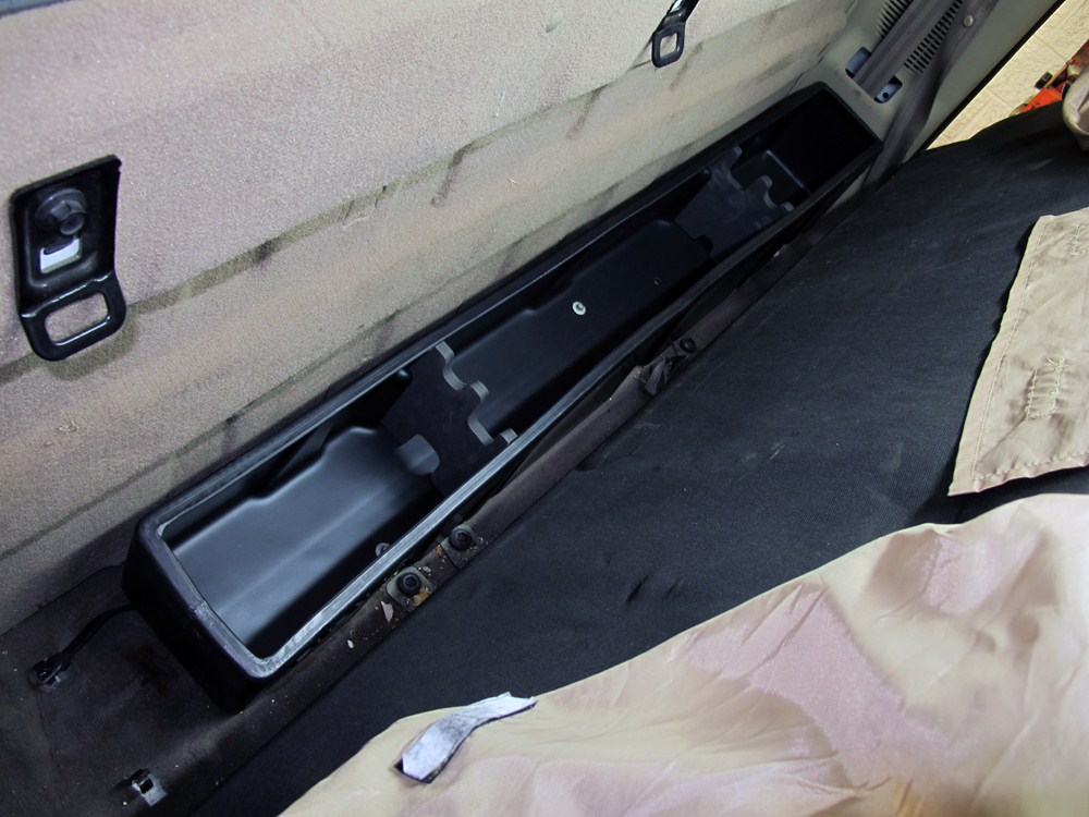 Du Ha Truck Storage Box And Gun Case Behind Seat Black
