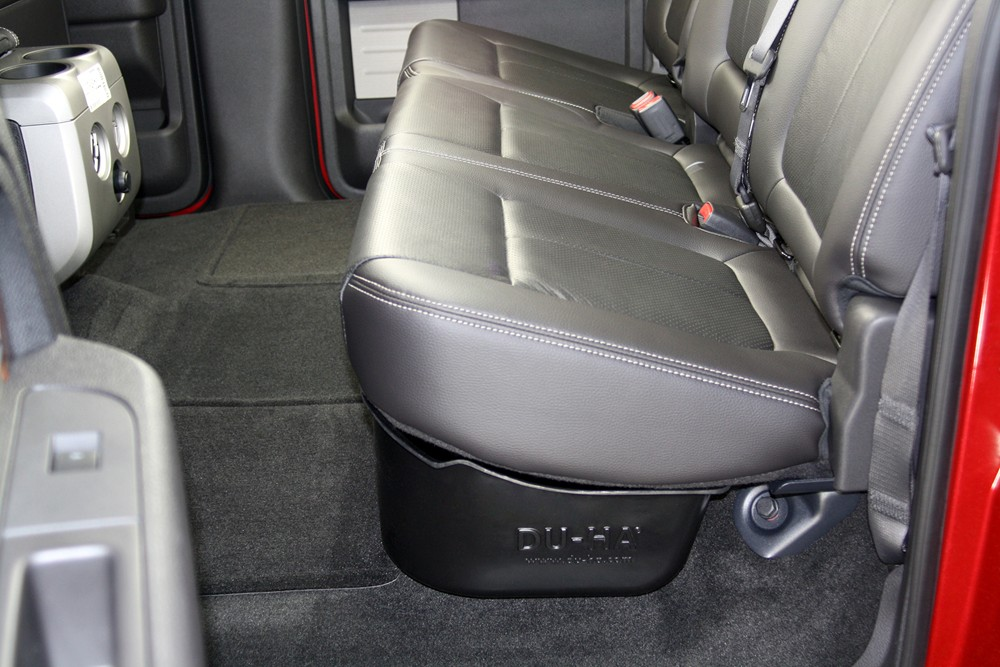 Du Ha Truck Storage Box And Gun Case Under Rear Seat