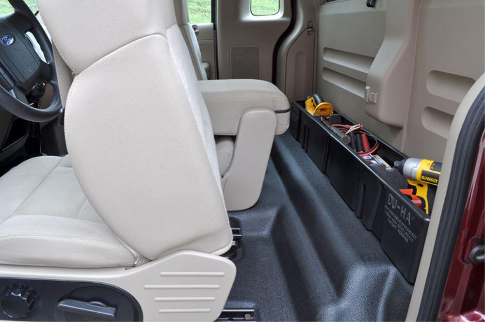 Truck Cargo Box >> Du-Ha Truck Storage Box and Gun Case - Behind Seat - Black ...