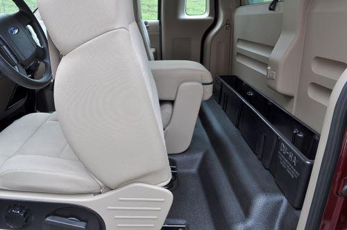 Du-Ha Truck Storage Box and Gun Case - Behind Seat - Black ...