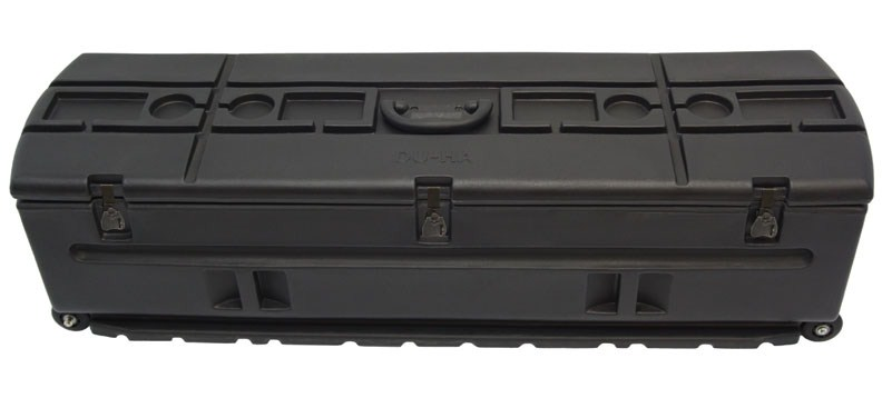 Du-Ha Tote Wheeled Storage Container with Mounting Bracket for Trucks and SUVs Black DU70114