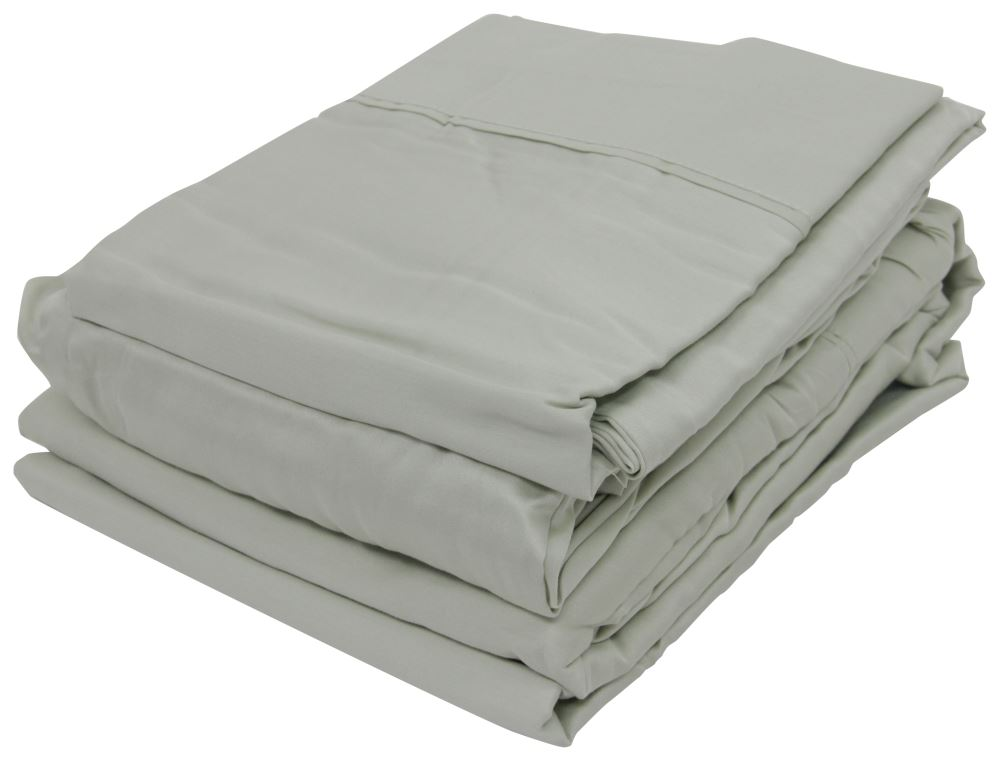 Denver Mattress Rv Sheet Set Sateen King Sage Denver