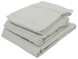 denver mattress rv sheet set microfiber short queen sage - Short Queen Mattress