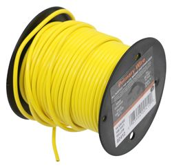 14 Gauge Primary Wire - Yellow - per Foot