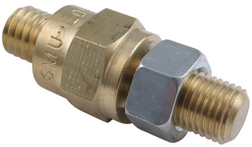 Battery Side Bolt Extender - Brass - Short Deka Accessories