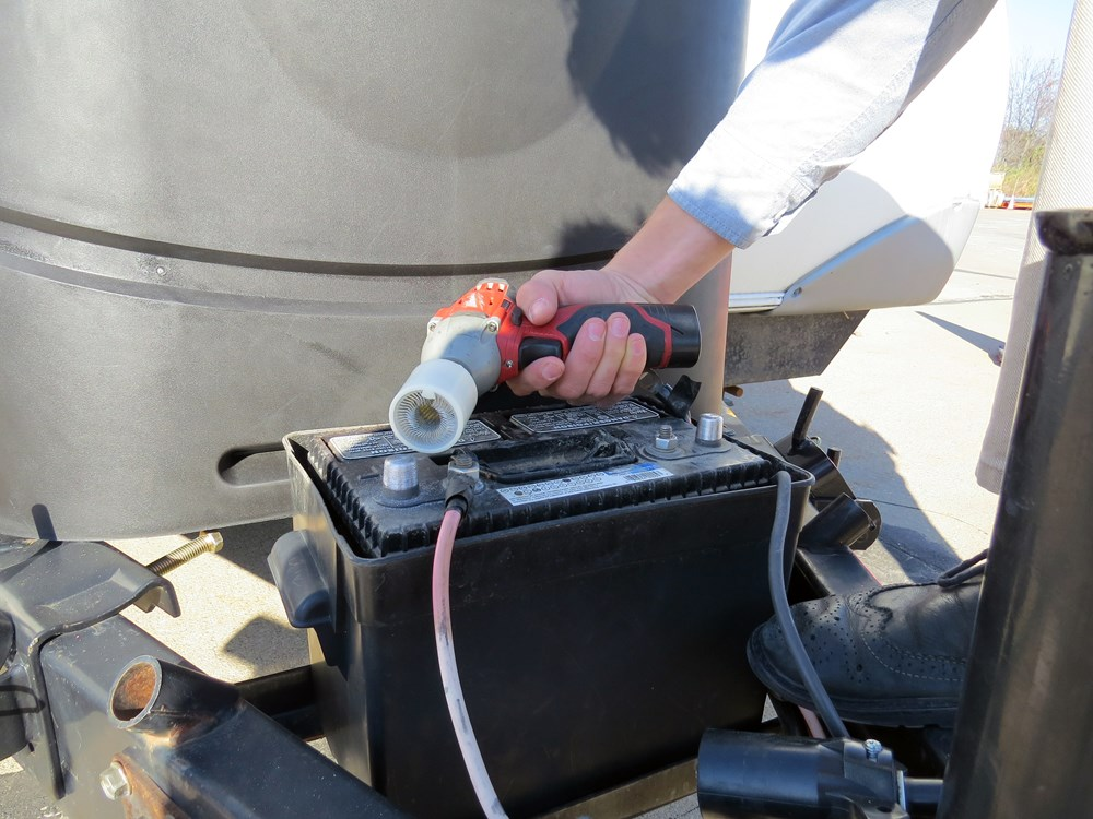 how to clean remote battery terminals