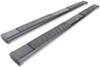 "DeeZee Oval Tube Steps w Custom Installation Kit - 6"" Wide - Black Powder Coated Steel Matte Finish DZ16121-16335"