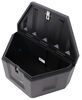DeeZee Specialty Series Trailer Tongue Toolbox - A-Frame - Plastic - 6 Cu Ft - Black 18 Inch Tall DZ91717P