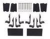Invis-A-Rack Folding Ladder Rack - Black Powder Coated Aluminum - 500 lbs Fixed Height DZ951600