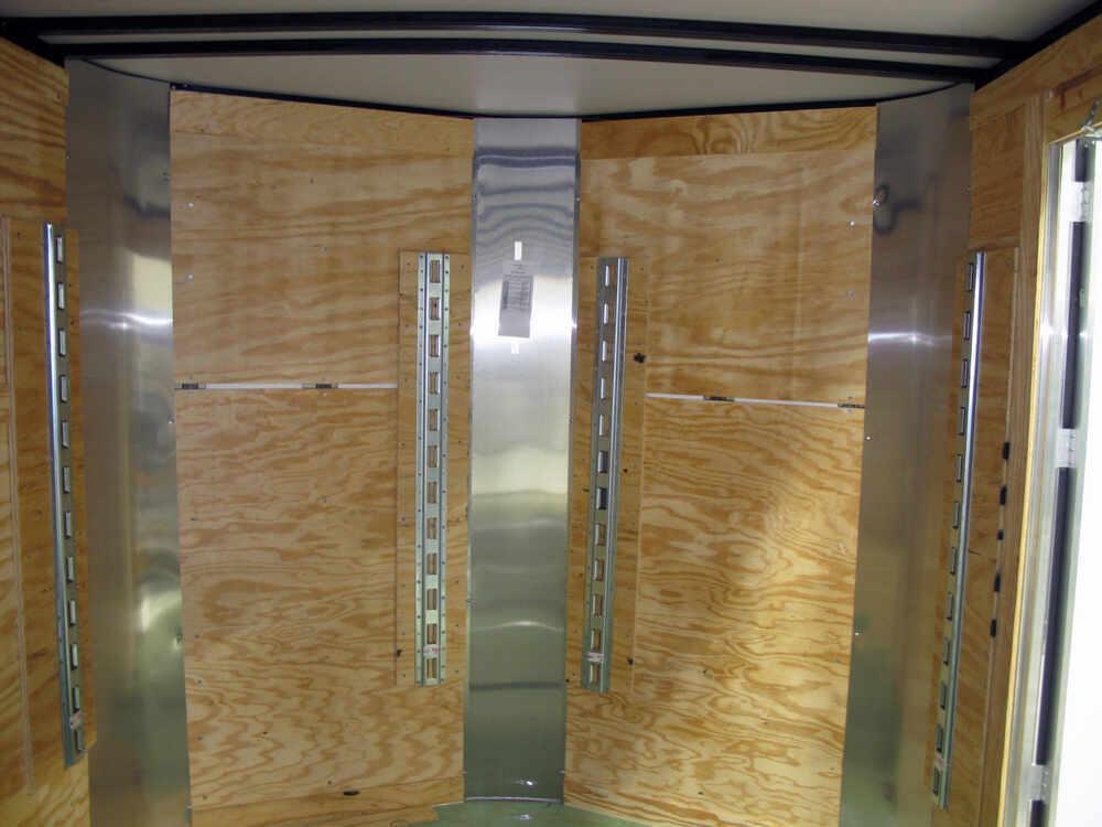 Erickson Vertical E Track Zinc Coated Steel 2 000 Lbs