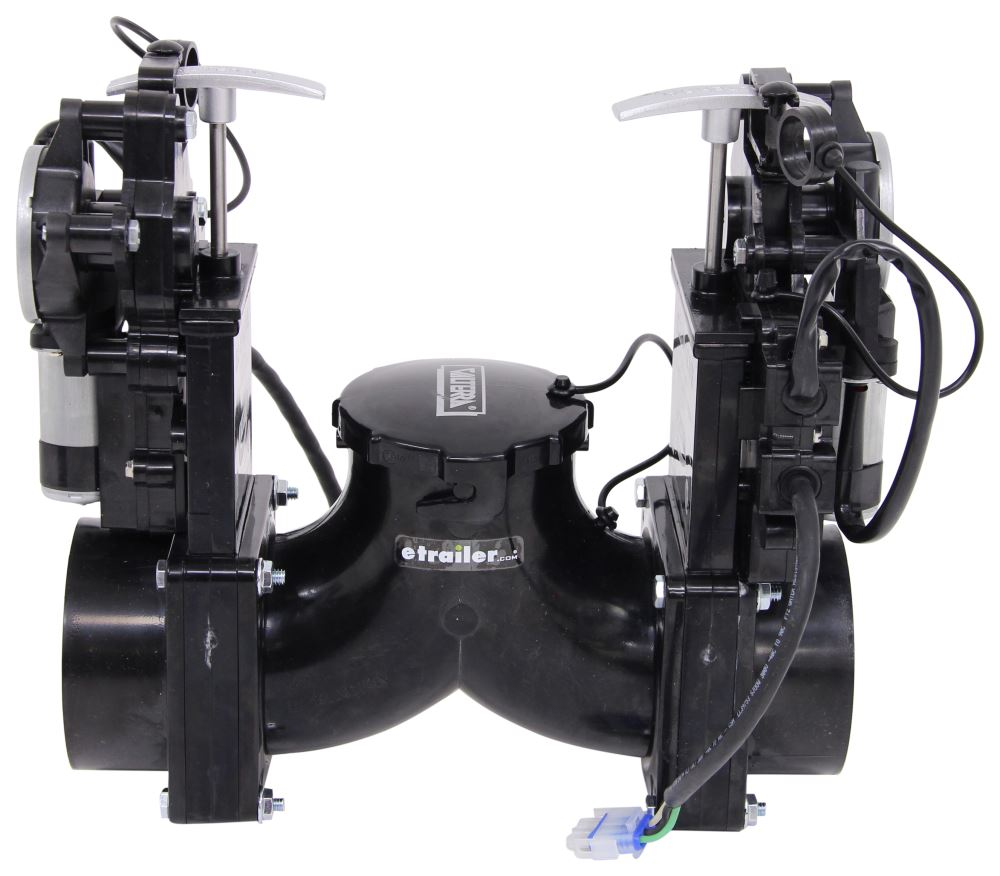 valterra ez valve double electric waste valves rotating