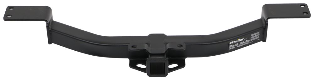 "etrailer.com Trailer Hitch Receiver - Custom Fit - Matte Black Finish - Class III - 2"" Class III E98863"
