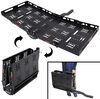"24x62 etrailer.com Cargo Carrier for 2"" Hitches - Steel - Folding - 500 lbs Class III,Class IV E98872"