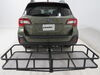 etrailer Hitch Cargo Carrier - E98874 on 2019 Subaru Outback Wagon