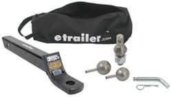 "etrailer.com Ball Mount Kit - Super Extra-Long - 3/4"" Rise or 2"" Drop - 6,000 lbs"