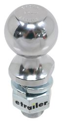 "50mm Hitch Ball - 1"" Diameter x 2-1/8"" Long Shank - Chrome - 8K"